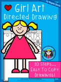 A+ Girl Art: Directed Drawing