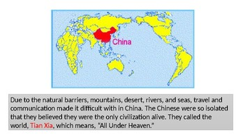 A Glimpse to Ancient China