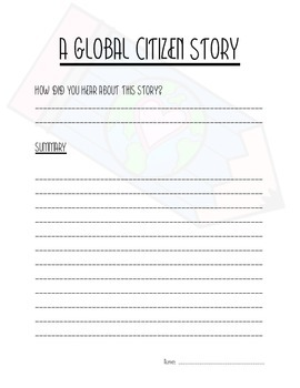A Global Citizen Story