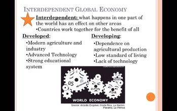 A Globalized World Global Review PPT