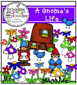 A Gnome's Life (The Price of Teaching Clipart Set)