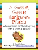 Disguise A Turkey- A Gobble, Gobble Thanksgiving Writing Project