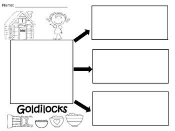 A+ Goldilocks: Graphic Organizers