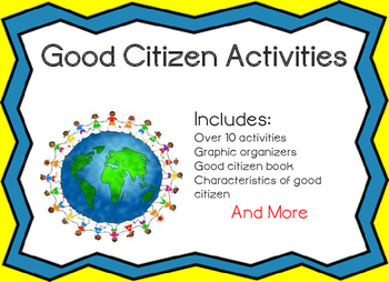A Good Citizen Activity Bundle
