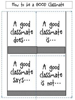 A Good Classmate....