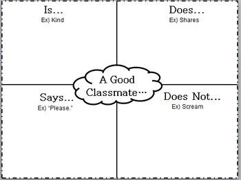 A Good Classmate Is...