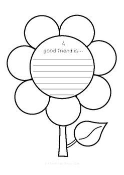 A Good Friend Activity
