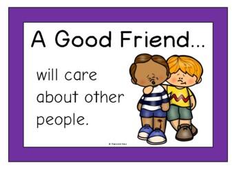 A Good Friend (Friendships)