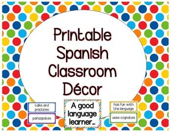 Spanish Classroom Decor, A Good Language Learner