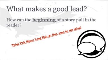 A Good Lead *Writing Workshop Lessons*
