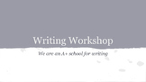 A Good Lead *Writing Workshop Lessons*