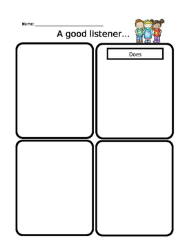 A Good Listener...