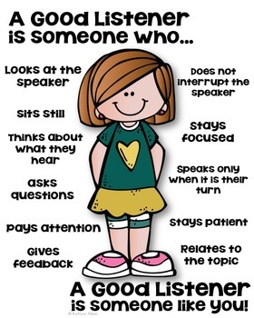 a good listener poster someone who by kaitlynn albani tpt