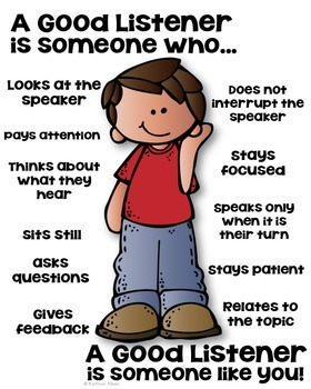 A Good Listener Poster [someone who]
