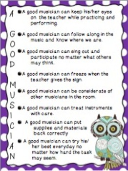 A Good Musician Can Poster