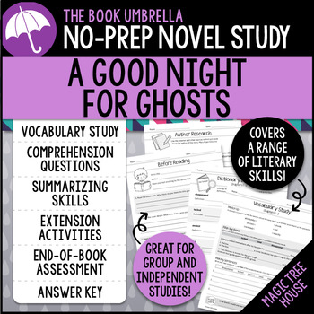 A Good Night For Ghosts - Magic Tree House