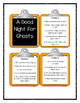 Magic Tree House - A GOOD NIGHT FOR GHOSTS - Discussion Cards