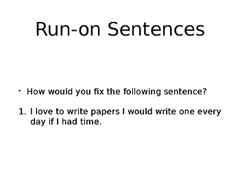 A Good Paragraph Powerpoint