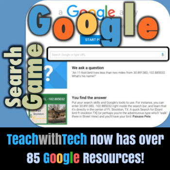 A Google A Day Search Game