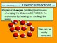 "A Grade 6 digital ""Chemical Reactions"" lesson."