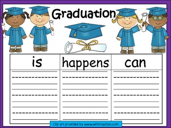 A+  Graduation or Kindergarten Graduation ... Three Graphi