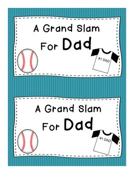 A Grand Slam For Dad