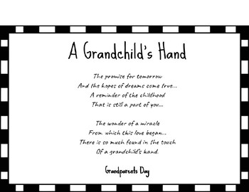 A Grandchild's Hand Craft by Brooke Foreman | Teachers Pay