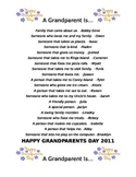 A Grandparent Is...