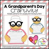 100 Day & Grandparent's Day Craft (If I Were 100 Years Old Writing Prompts}