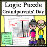 Grandparents' Day Activity Logic Puzzle Brainteaser