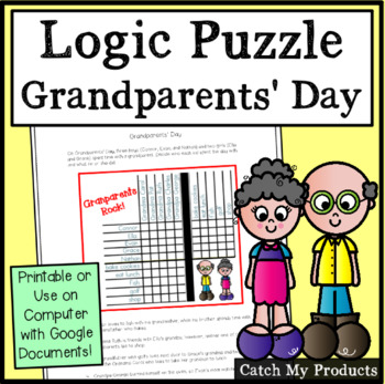A Grandparents' Day Matrix Logic Problem