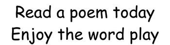 A Graph Poem