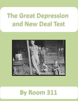 A Great Depression and New Deal Test