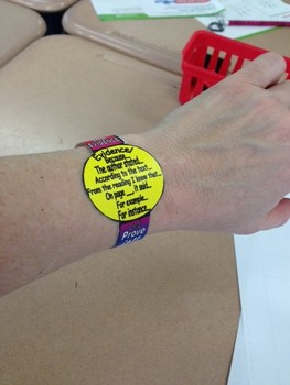 A Great Evidence Based Terms Bracelet