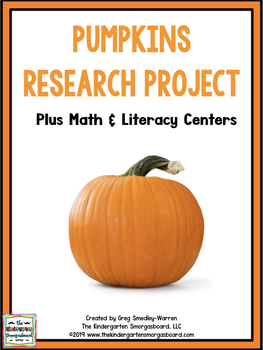 Pumpkins!  A Great Pumpkin!   Pumpkin Research Project!