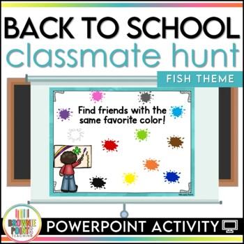 Back to School Classmate Hunt