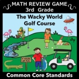 A Great Spring and End of the Year Review Math Game for 3rd Grade -
