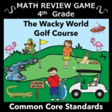 A Great Spring and End of the Year Review Math Game for 4th Grade