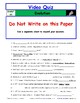 Differentiated Guide Quiz & Ans - Greatest Discoveries Bill Nye * Evolution