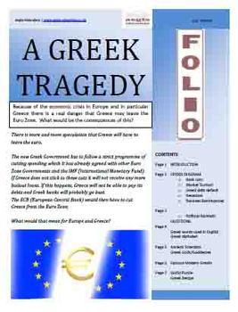 A Greek Tragedy - FOLIO news items & activities