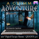A Grimm Adventure Escape Room - Middle School Digital Escape Room