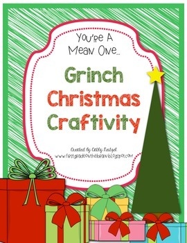 A Grinch Christmas Craftivity