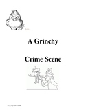 A Grinchy Crime Scene-The Elements of Criminal Law, Christmas Activity Forensics