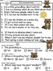 A+  Groundhog Day Poem & Multiple Choice With 1, 2, Or 3 A