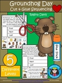 A+  Groundhog Day Sequencing (First, Next, Last):  Differentiated Instruction