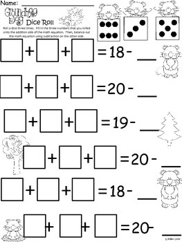 A+ Groundhog Dice Roll: Balancing Out Equations
