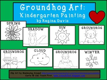 A+ Groundhog: Kindergarten Painting