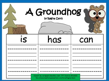 A+ Groundhog... Three Graphic Organizers