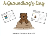 A Groundhog's Day (An Adapted Book about Groundhog's Day)