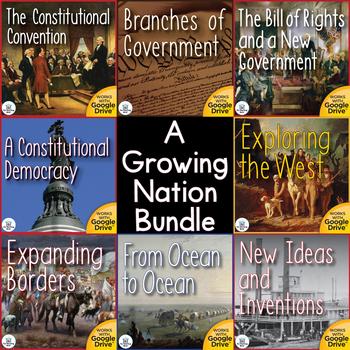 A Growing Nation Interactive Notebook Mega Bundle